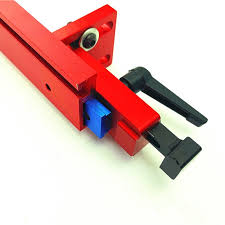 Durable Fence Rail Aluminium Alloy Saw Stop T Slot Chute 30 45 Diy Red Gauge Stopper Miter Track Shopee Philippines