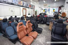 customise your car leather upholstery