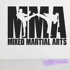 127471681 Mma Club Sticker Boxer Kickboxing Car Decal Free Combat Vinyl Striker Wall Decor Mixed Martial Arts Club Decals Home Garden Home Decor