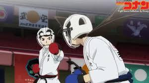 Detective Conan - Ran Mori_ Những đòn Karate cực đỉnh của Ran _ Fight scene  of Ran - YouTube