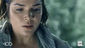 Marie Avgeropoulos as Octavia Blake on The 100 Season 7 Episode 2,