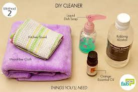 how to clean granite countertops like a