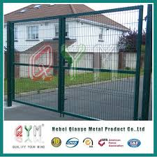 China Designed Galvanized Welded Mesh Fencing And Gates System Photos Pictures Made In China Com