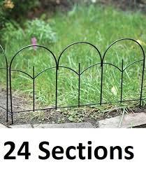 Panacea 87401 Triple Arch Edge Fence Black 31 X 24 For Sale Online Ebay