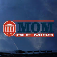 Rebel Rags Cdi Corp Ole Miss Mom Decal