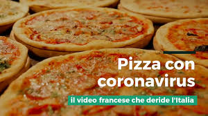 Pizza Coronavirus: lo sketch francese di Canal + - YouTube