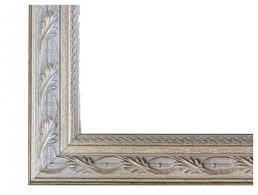 le flore frame in antique silver frame