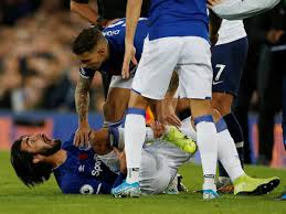Result: Andre Gomes horror injury mars Everton draw with Tottenham - Sports  Mole