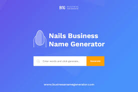 nails business name generator