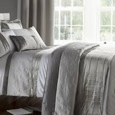 gatsby silver bedding duvet sets