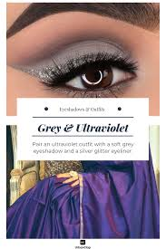 eyeshadow makeup with any indian outfit