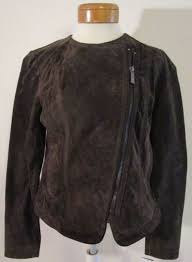 suede leather moto jacket
