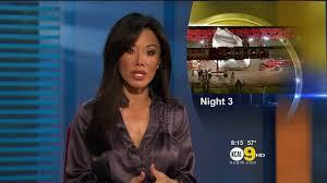 Sharon Tay 2012/03/01 KCAL9 HD; Satin top - YouTube