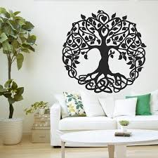165cm Tall Sacred Tree Wall Decal Tree Of Life Vinyl Sticker For Wall Or Window Home Decor Garden Of Eden Big Trees Yoga Lc999 Wall Stickers Aliexpress