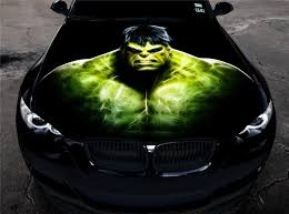 Vinyl Car Hood Full Color Graphics Decal The Incredible Hulk Sticker Ebay