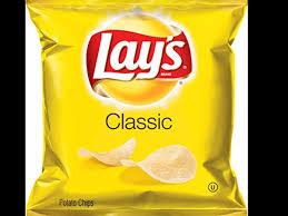 lays clic potato chips nutrition