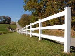 Post And Rail Fence Durable Low Maintenance Vinyl