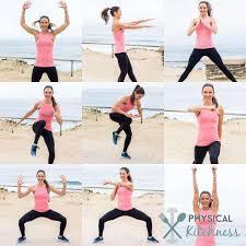 video home cardio workout lpc survival