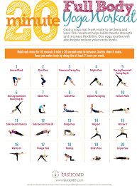 20 minute full body yoga workout guide