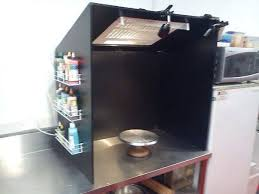airbrush spray booth for cakes