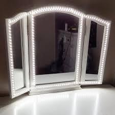 led vanity mirror light kit with dimmer