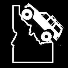 Jeep Cherokee Xj Idaho State Decal Stick Buy Online In Turkey At Desertcart
