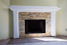 fireplace refaced
