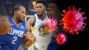 The high-five is out, the fist bump is in for the NBA in the ...