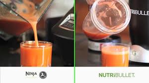 ninja vs nutribullet juicing carrots