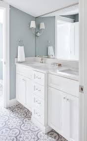 bath walls with white dual washstand