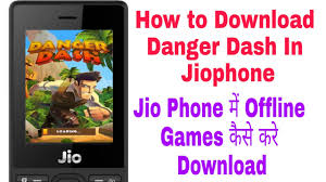 How to download Offline games in jio phone - YouTube