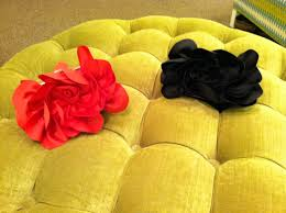 Monkees of Morrocroft Sondra Rose Satin Rose Clutches, Black and Red, $115