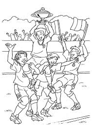Coloring Sports Kleurplaten Adult Coloring Pages Voetbal