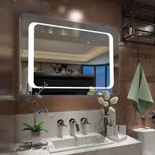 led illuminated bathroom mirror ip44