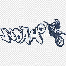 Motorcycle Motocross Graffiti Sticker Wall Decal Moto Cross Text Logo Motorcycle Png Pngwing