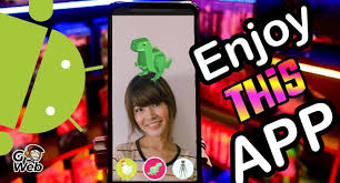 This augmented reality Android application will entertain you