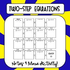 bd0324 two step equations notes maze