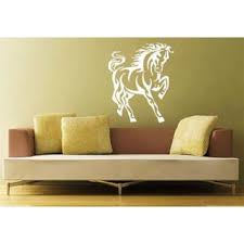 Shop Horse Mustang Head Zoo Animals Decor Wall Decal Art Vinyl Sticker Decal Size 33x39 Color Black Free Shipping Today Overstock 13731303