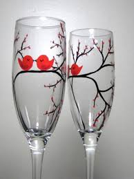 diy hand painted glass so cute