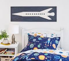 solar system glow in the dark sheet set