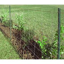 Red Brand Field Fence 330 Ft X 4 Ft Silver Steel Woven Wire Farm Woven Wire Rolled Fencing In The Rolled Fencing Department At Lowes Com