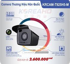 Camera KoreaHD – IP Thân H265+ 2.0M 1080P Full HD (sắt) 2020- Dịch vụ lắp  camera giá rẻ tại nhà, Báo giá Lắp camera giám sát gia đình, Camera WIFI  trong nhà -