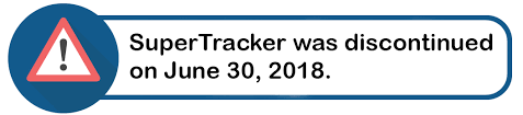 supertracker discontinued june 30 2018