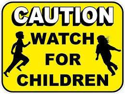 Caution Watch For Children Vinyl Decal Choose Your Size Great For Truck Van 16 98 Picclick