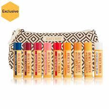 9 pack lip balm flavor gift set