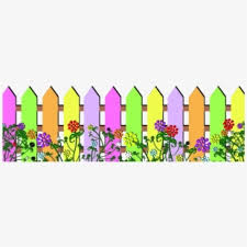 Fencing Clipart Fence Border Flower Fence Clipart Png Transparent Cartoon Free Cliparts Silhouettes Netclipart