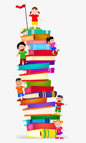Stack Clipart Preschool Book Clip Free - Stack Of Books Clip Art PNG Image  | Transparent PNG Free Download on SeekPNG