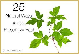 poison ivy treatment along with 25