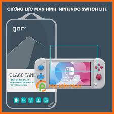 Dán cường lực màn hình máy chơi game Nintendo Switch Lite chính hãng GOR