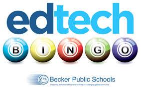 Ed Tech Bingo - Becker Instructional Technology